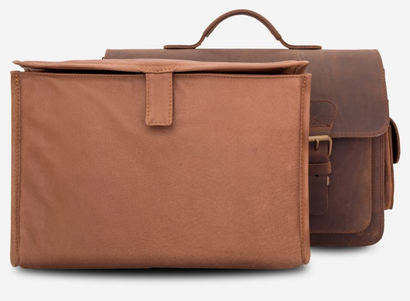 Removable leather insert for brown leather camera bag 733103