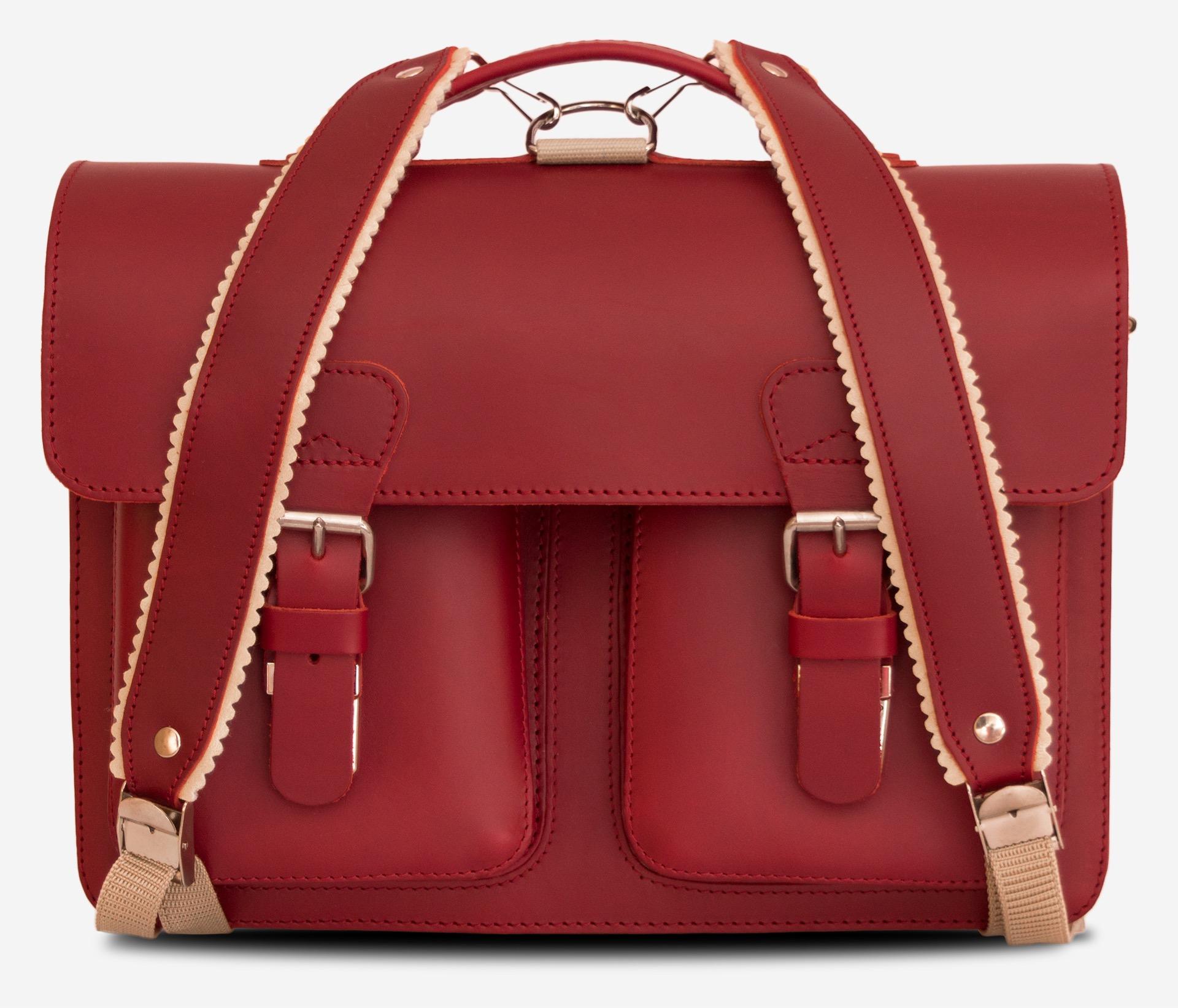 463216ebcd6 Professor backpack satchel II – RUITERTASSEN