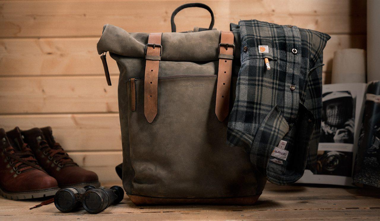 Best vintage leather backpack.