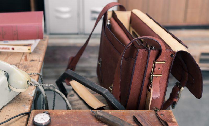 Front pocket executive briefcase.
