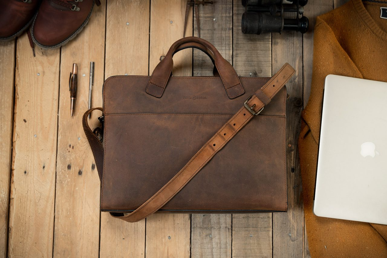 Best leather briefcase.