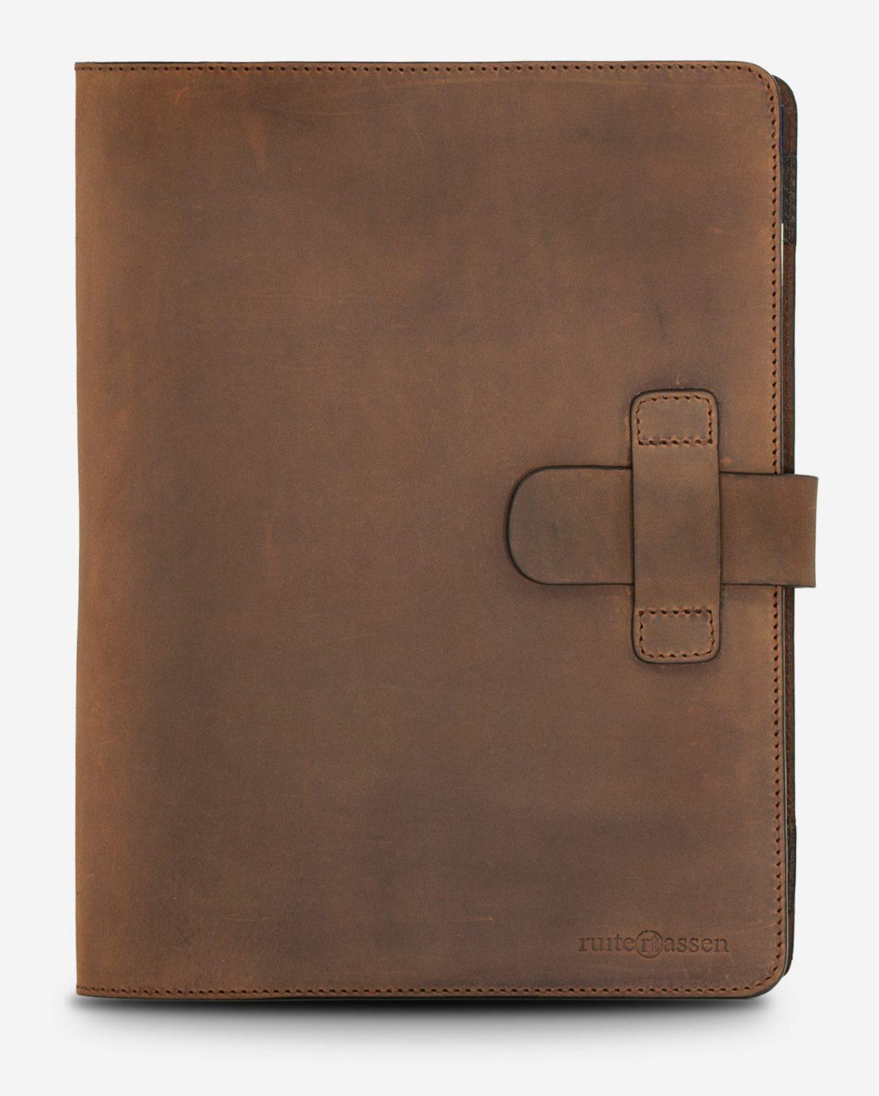 Vintage leather conference folder.
