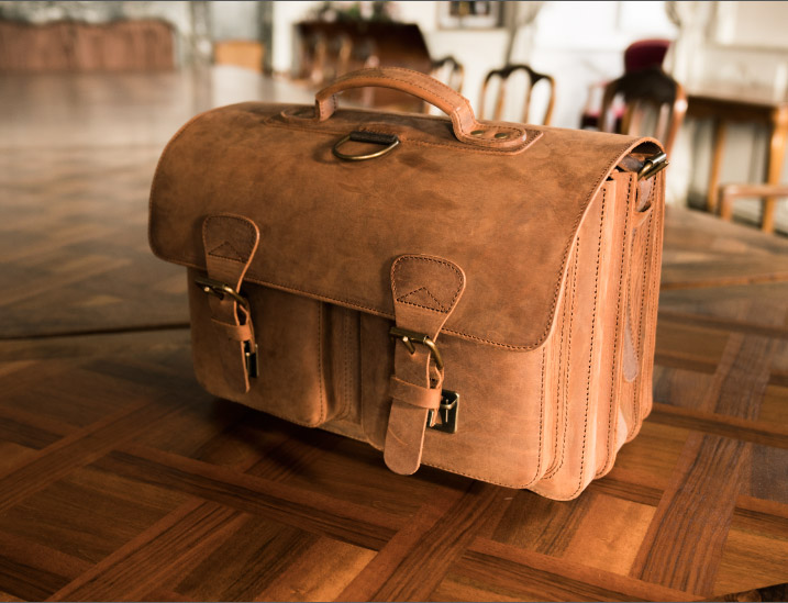 Best leather brown satchel.