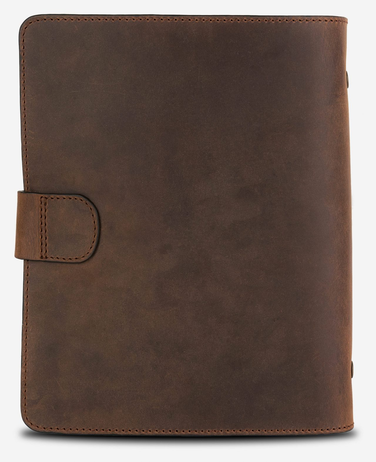Beautiful vintage leather refillable notepad.