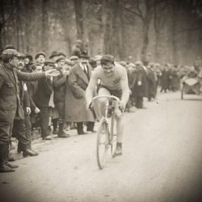 Photo of the tour de france in 1925
